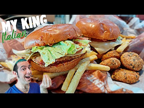 #Videoanálisis | Probando EN EXCLUSIVA la nueva receta italiana de Burger King #MyKingItalian