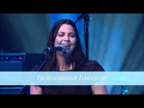 Amy Lee  Im So Lonesome I Could Cry Full Performance   Lyrics