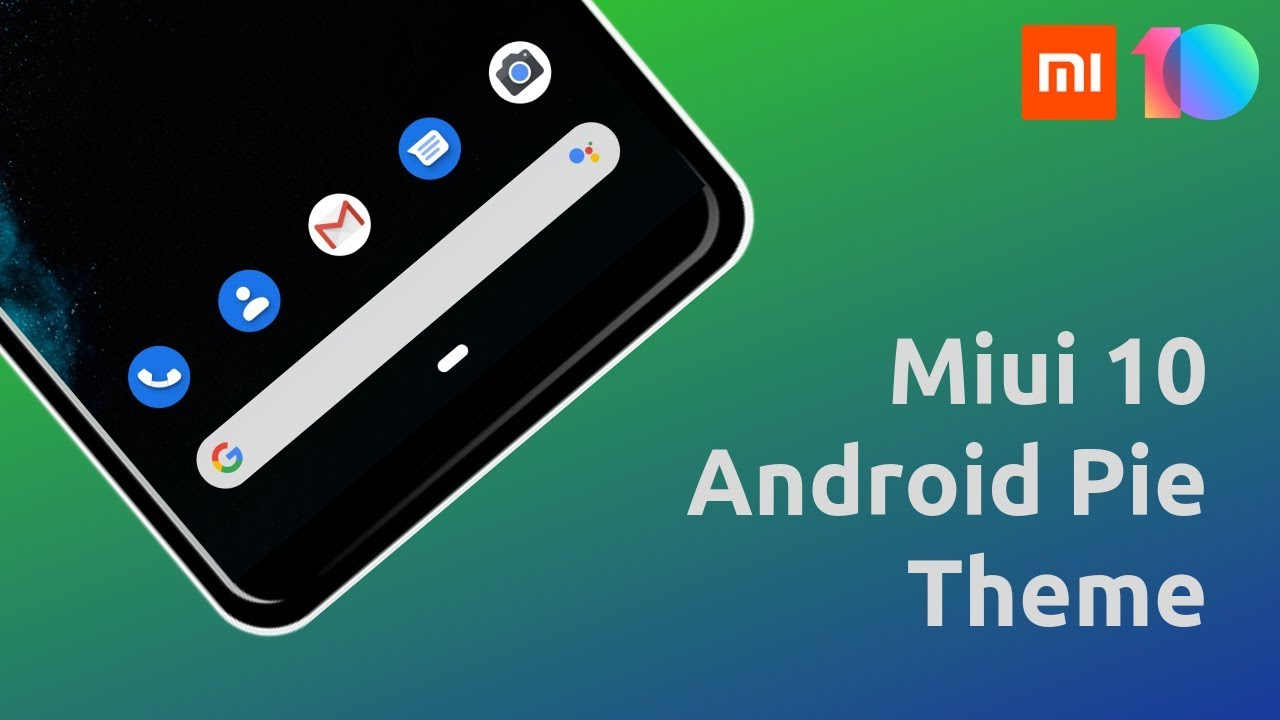 Stock Android Pie Theme For MIUI 10 - March 2019 | Redmi Note 5 | Redmi  Note 6 | Redmi Note 7