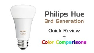 Review: Philips Hue White & Color LED Bulb (3rd Generation - 2016)