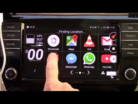 Floating Apps for Auto - MirrorLink - compatible phones and cars - Launcher Car Home Ultra