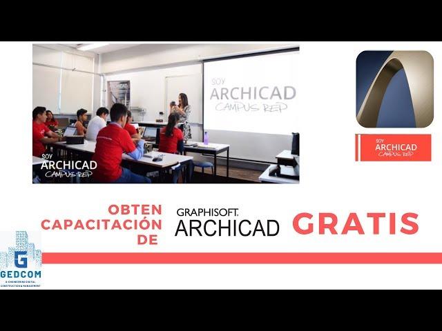 Capacite gratis con Campus Red en ArchiCAD