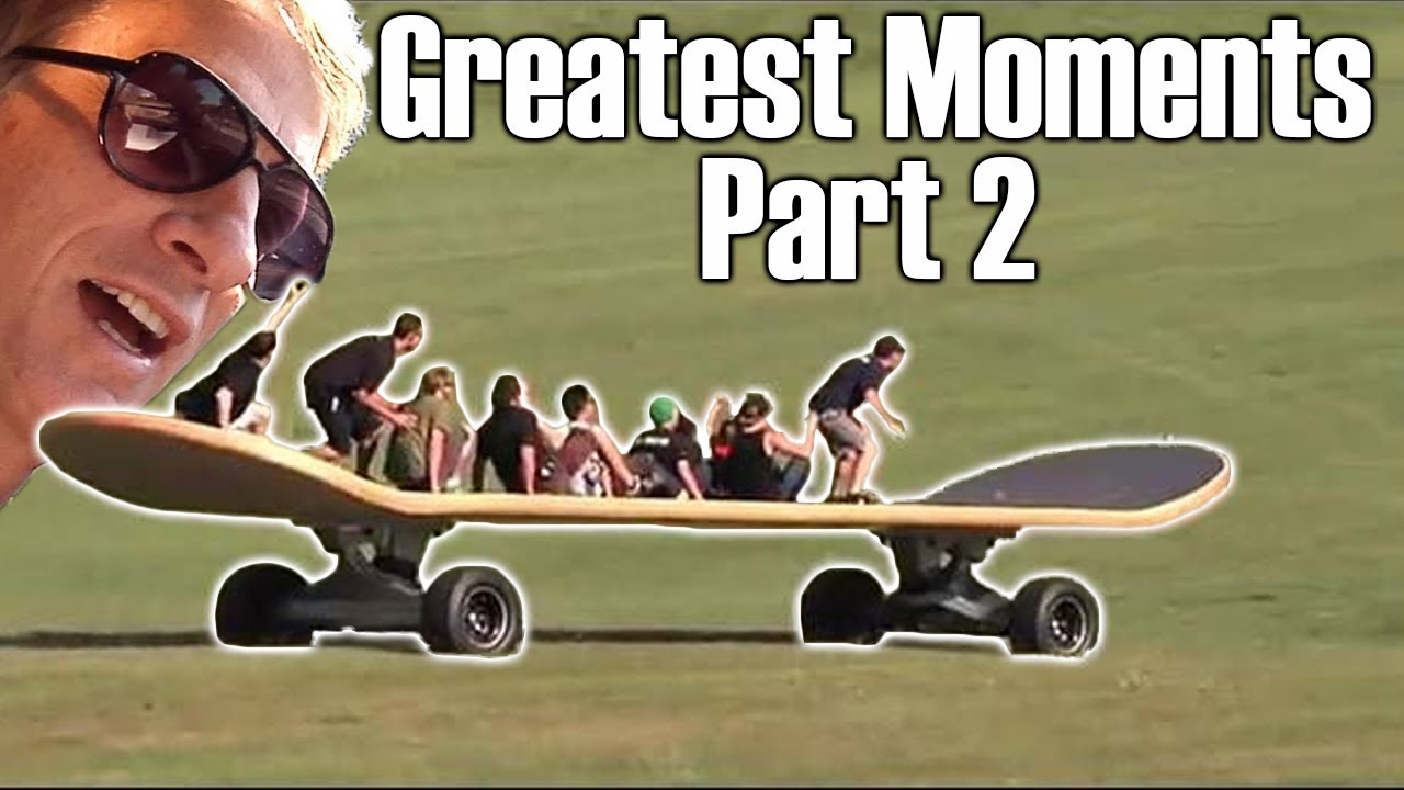 Greatest SKATEBOARDING Moments P.2