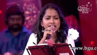 """Nanna Neenu Gellalare"" by Ankitha Kundu and Channappa at 5th Bengaluru Ganesh Utsava"