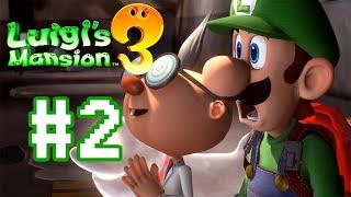ถือกระเป๋า เปาปลาเค็ม - Luigi's Mansion 3 - Part 2