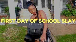 GRWM FOR THE FIRST DAY OF 7th grade 2017
