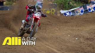 Alli Motocross Videos - A Day With Alex Martin Racing Motocross at Spring Creek