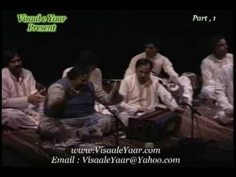 Punjabi Sufi Kalam(Part,1.Jana Jogi Dey Naal)Nusrat Fateh Ali Khan.By Visaal