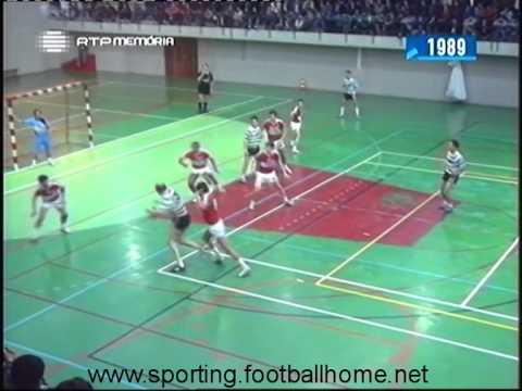 Andebol :: 05J :: Benfica - 22 x Sporting - 22 de 1988/1989 - 2 Fase