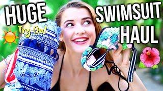 HUGE Summer Swimsuit TRY ON Haul!! 2017 | Tatiana Boyd