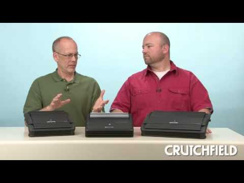 Alpine V-Power Car Amplifiers | Crutchfield Video