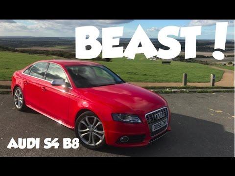 Audi S4 B8 3.0 TFSI 2009 [REVIEW] car video by Calvin