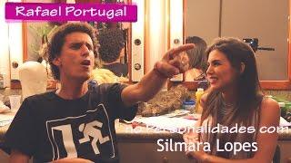 PERSONALIDADES COM RAFAEL PORTUGAL (PORTA DOS FUNDOS) - POR SILMARA LOPES