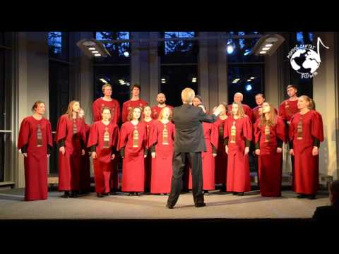 The Chamber Choir of Vilnius Academy of Arts, Vilnius, Lithuania