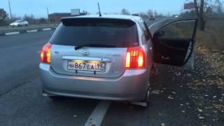 Toyota Corolla runx от Зайцев man тест-драйв [снято на iphone 5s]