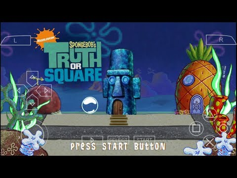 Cara Download Game Spongebob's Truth Or Square PPSSPP Android