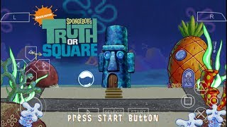 Gambar cover Cara Download Game Spongebob's Truth Or Square PPSSPP Android