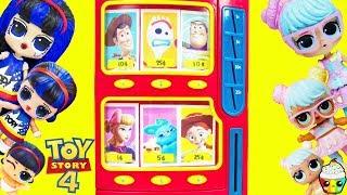Історія іграшок 4 автомат ЛОЛ Сюрприз волосся цілі хвилі 2 сім'ї поп-серце + сім'я Бон Бон