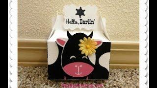 Hello Darlin Cow Treat Box