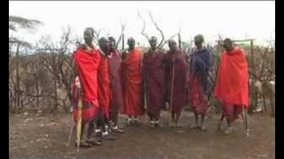Massai village, ngorongoro conservation area