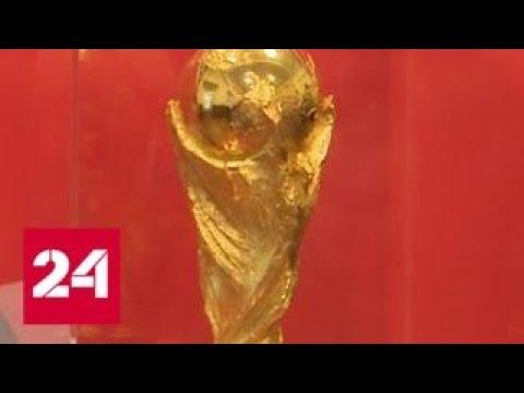 Футбольный Кубок мира ФИФА прибыл в Челябинск - Россия 24