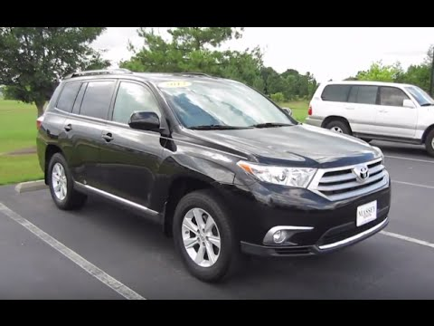 Toyota Highlander Se V Full Tour Start Up At Massey Toyota