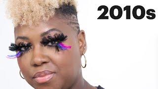 100 Years of Fake Eyelashes   Allure