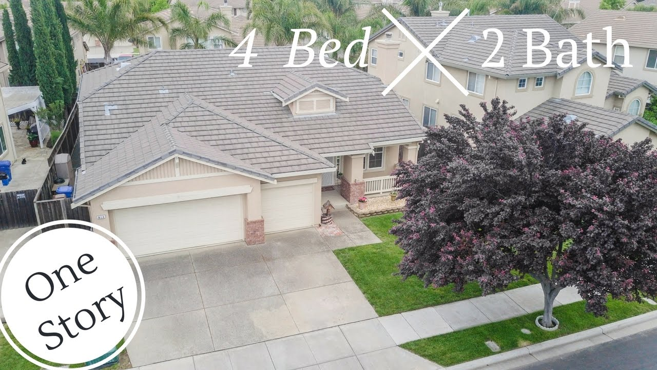 Single Story Home Open Floor Plan 812 Redhaven Dr Brentwood Ca