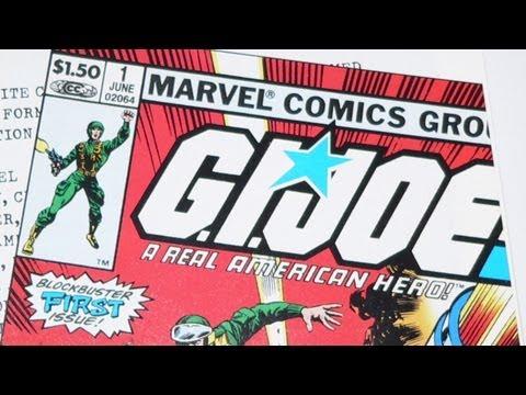 G.I. Joe Comics 1 - 10 (Marvel 1982) review