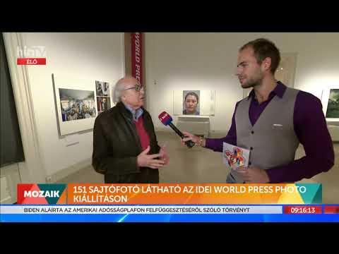 Mozaik - World Press Photo Kiállítás (2021-10-15) - HÍR TV