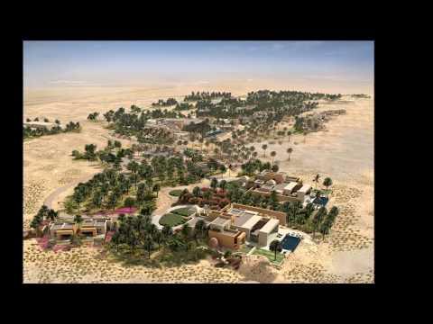 Qatari Diar Tozeur Desert Resort Tunisia