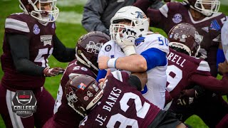 Tulsa vs. Mississippi State ends with postgame brawl | College Football Highlights