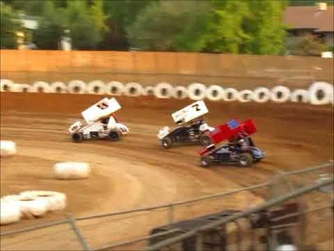 Sprintcars @ Placerville Speedway 8 19 17 part 1