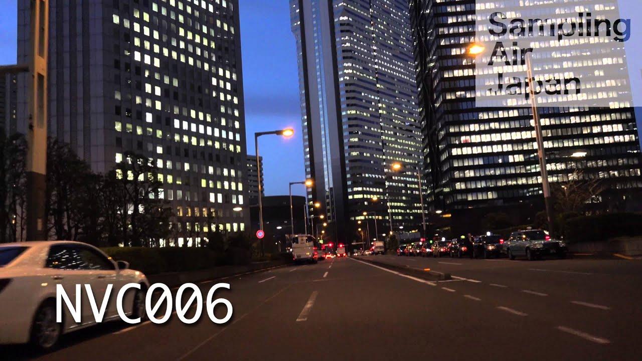4k hd動画素材nvc006 東京 新宿 夜景 ビル群 車載 stock footage