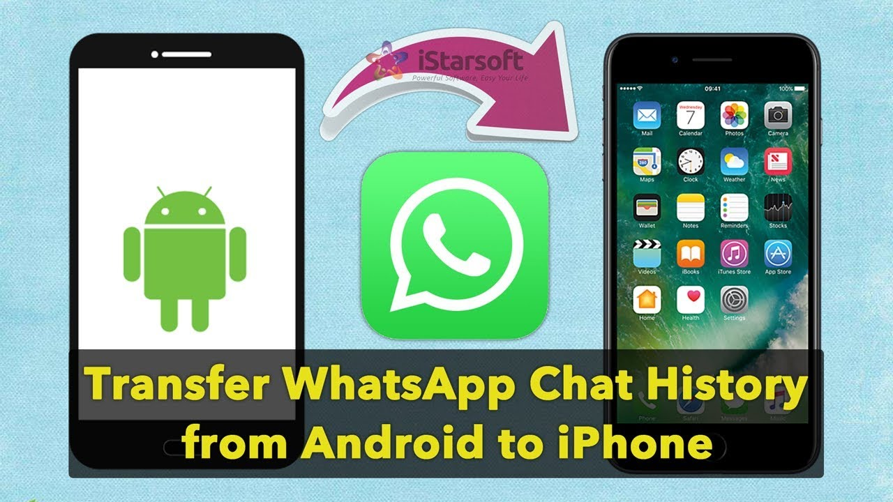 Top 3 Ways to Transfer WhatsApp Messages from Android to iPhone