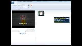 How to trim a video using windows movie maker