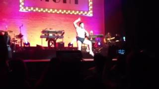 June 20, 2012 A very short video from our night at the Apollo theat...