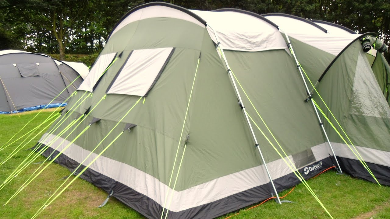 & Outwell Montana 6 (The Best Family Tent) - YouTube