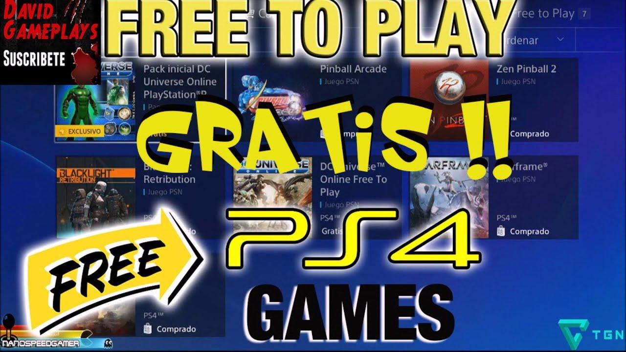 Los 3 Mejores Juegos Gratuitos De Playstation 4 2016 Youtube