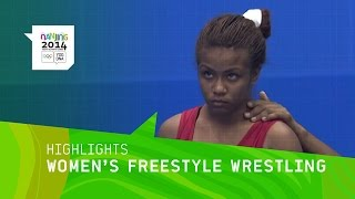 Women's Freestyle Wrestling Qualification - Highlights | Nanjing 2014 Youth Olympic
