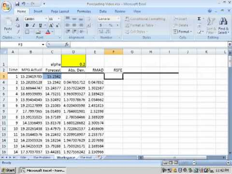 time series forecasting in excel doovi