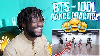 [CHOREOGRAPHY] BTS - 'IDOL' Dance Practice | BEST DANCE PRACTICE EVER! | #IDOLCHALLENGE | REACTION