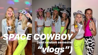 SPACE COWBOY (and random semester vlogs from my phone)