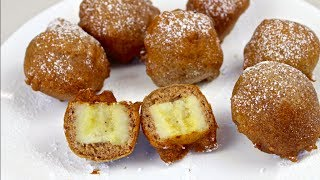 Fried Banana Bites