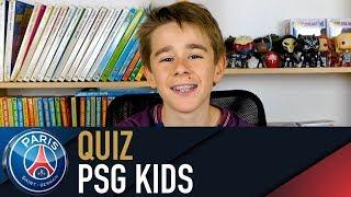 Quiz spécial PSG KIDS 👦