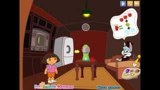 Dora's magic paintbrush (Даша: Волшебная кисть) - прохождение игры