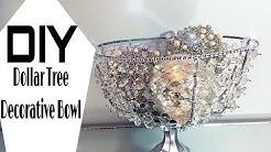 DIY | Dollar Tree | Mirrored Decorative Bowl