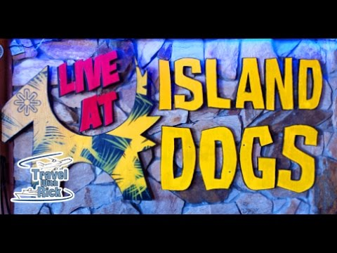 Island Dogs Bar in Key West And The World's Best Hot Dog