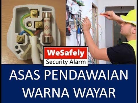 Asas Pendawaian Warna Wayar Wesafely