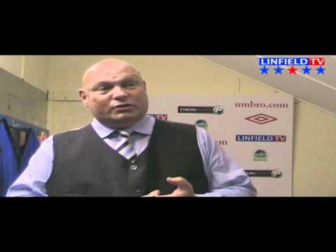David Jeffrey speaks to LinfieldTV